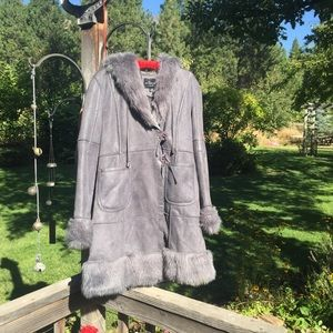 Faux Fur Coat Outdoor Edition by Parkhurst Medium